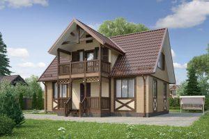 Каркасные дома нового типа от компании Profikarkas