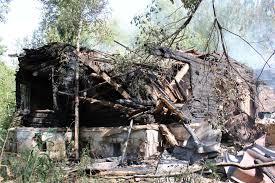 Сгорела усадьба Руново