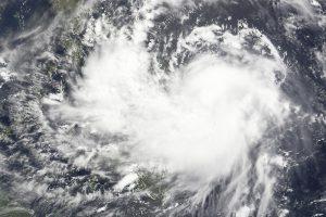 Тропический шторм «Барижат» идёт на Хайнань