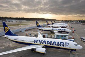 Ryanair 28 сентября отменит 190 рейсов