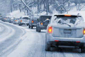 Безопасное вождение в зимний период