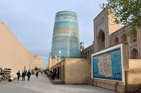 Достопримечательности города Хива в Узбекистане