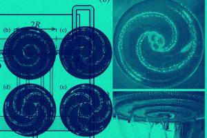Физики впервые закрутили жидкость в антиспираль