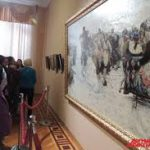 В Красноярске открылась выставка картин Василия Сурикова из семи музеев России