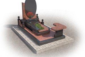 Надгробия из природного гранита от фабрики «Данила-Мастер»