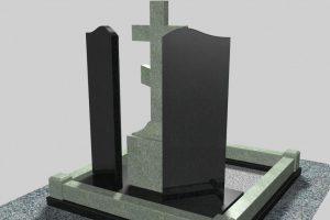 Памятники на могилу из природного гранита от компании «Данила-Мастер»
