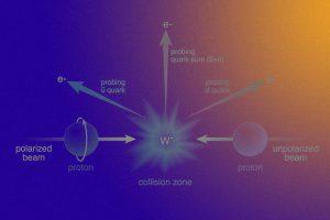 Физики измерили асимметрию между вкладами морских антикварков в спин протона
