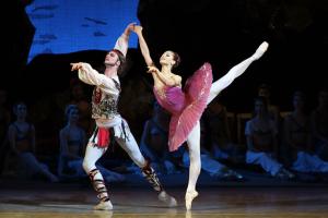 Балетная труппа Мариинского театра начала гастроли в США