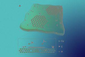 Осаждение на жидкий металл ускорило рост монокристаллов графена на треть