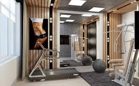 Пустующая комната как тренажерный зал
