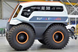Volgabus представила беспилотный вездеход
