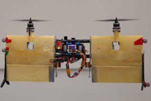 Канадцы представили открытый проект беспилотного тейлситтера