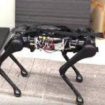 Китайский робот AlienGo научился делать обратное сальто