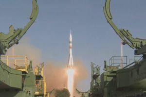 Корабль «Союз МС-14» с роботом Федором отправился к МКС