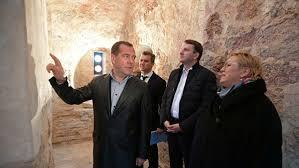 Дмитрий Медведев посетил Церковь Николы на Липне