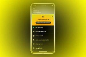 Uber определит аварии и остановки по акселерометру смартфона