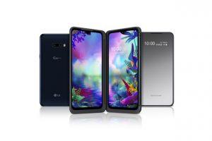 LG представила опционально трехэкранный смартфон