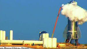 Прототип ракеты Starship лопнул во время испытаний