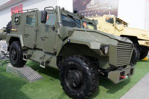 Российские военные испытают «Атлета»