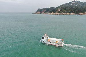 Китайцы испытали автономное грузовое судно
