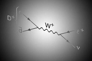 Редкий распад D-мезона уложился в предсказания Стандартной модели