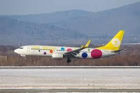 Аэропорт Владивосток принял первый рейс китайской авиакомпании 9 Air