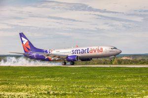 Smartavia полетит в Анапу из 5 городов России