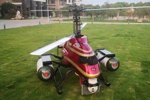 Китайцы разработали пожарный дрон