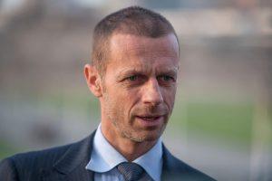 Президент УЕФА заявил, что футбольный сезон может быть потерян
