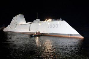 ВМС США получили эсминец-невидимку во второй раз