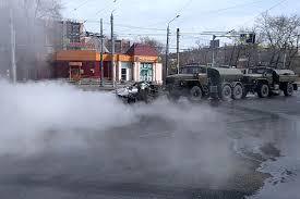 ВОЗ высказалась против распыления на улицах и в помещениях дезинфицирующих растворов