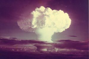 Ядерные испытания времен холодной войны усилили дожди над Шетландскими островами