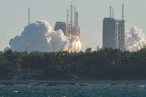 Китайцы признали успешным запуск космического корабля нового поколения