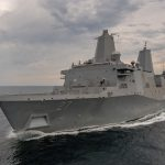 Американцы испытали 150-киловаттный корабельный лазер