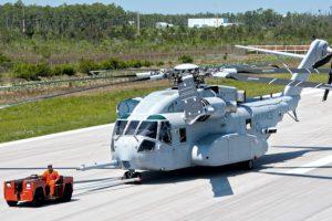 Крупнейший американский вертолет прошел первые морские испытания