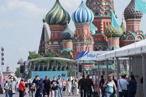 В столице завершился фестиваль «Красная площадь»