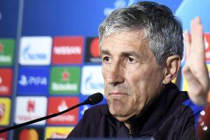 СМИ: «Барселона» уволит главного тренера Сетьена по окончании сезона