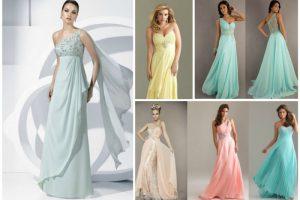 Как выбрать вечернее платье на свадебное торжество