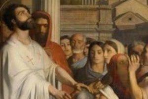 При пожаре в соборе Нанта сгорела картина Ипполита Фландрена