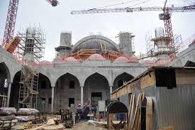 Строительство Соборной мечети продолжается в Симферополе