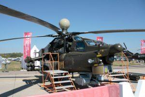 Начались испытания ударного вертолета Ми-28Н с саблевидными лопастями