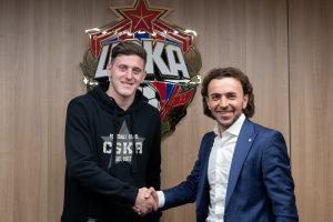 ЦСКА объявил о подписании контракта с Гайчем