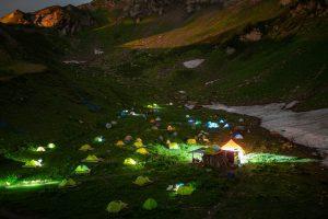 Палаточный лагерь Camp 2050 откроется на Курорте Красная Поляна