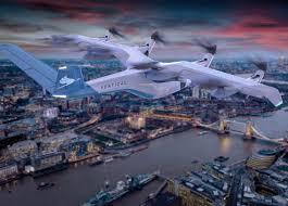 Британцы разработают «умную зарядку» для аэротакси