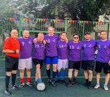 Фонд Константина Хабенского провел благотворительный футбольный матч
