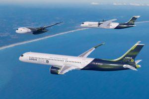 Airbus занялся разработкой водородных пассажирских самолетов