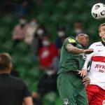 Московский клуб вышел на первое место в Премьер-лиге