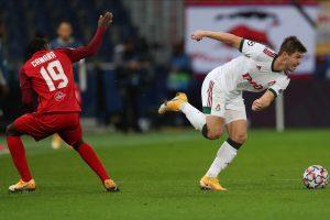 «Локомотив» сыграл вничью с «Зальцбургом» в Лиге чемпионов