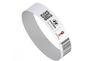 Контрольные браслеты с QR кодом