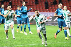 «Зенит» не смог обыграть «Ахмат» в гостевом матче 15-го тура РПЛ